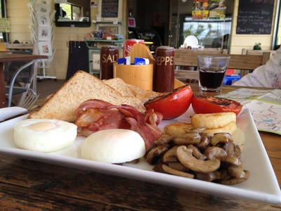 The Lookout Cafe Breakfast ($14)