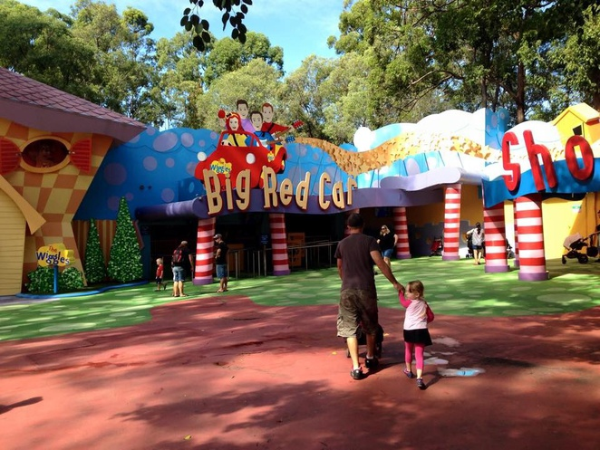 The wiggles, Dreamworld, fun on the Gold Coast, family fun on the Gold Coast, wiggles world, fun for toddlers, Gold Coast events, the wiggles show