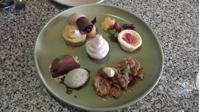The Woodhouse - Dessert tasting plate