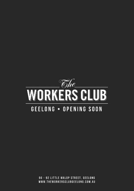 The Workers Club, Geelong