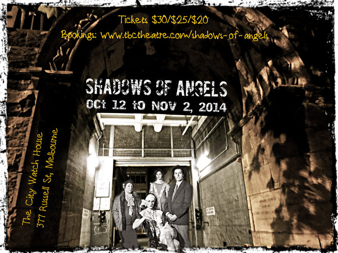 theatre, shadows of angels, female criminals, national trust, tbc theatre, tbc, city watch house, fleur murphy,
