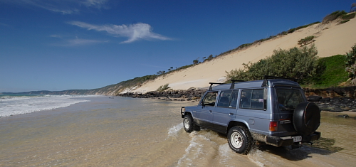 Top Ten Fun Things to do on the Sunshine Coast, surf, swim, jet ski, waterski, fishing, kite board, sun tan, build sand castles, hiking, waterfalls, Great Beach Drive to Rainbow Beach, Australia Zoo, Ginger Factory, Maleny Botanic Gardens, Big Kart Track, fresh seafood off the trawlers, local markets, self-drive through the hinterland