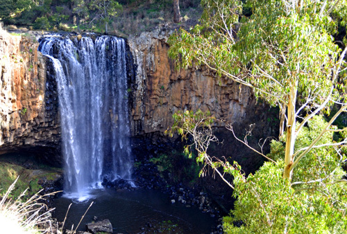 Victoria Macedon Ranges Trentham Falls Waterfalls Wombat Forest