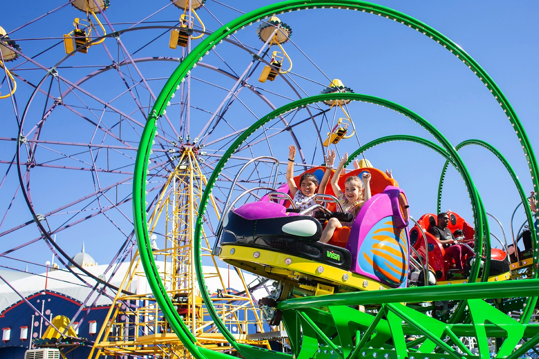 Join The Fantabulous Summer Carnival Of Fun At Luna Park