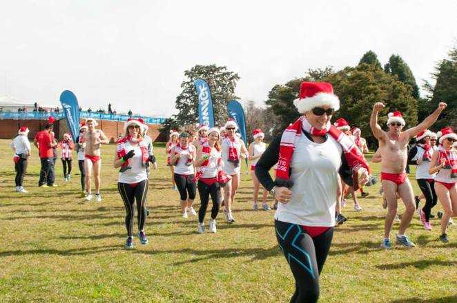 6500 santa shuffle, canberra, 2016, ACT, christmas in July, charity run, 2016, cystic fibrosis,