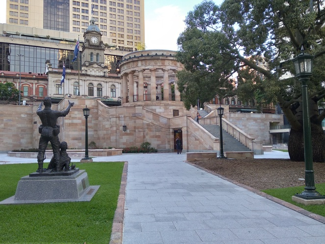 anzac square memorial galleries, war, gallery, qld, remembrance