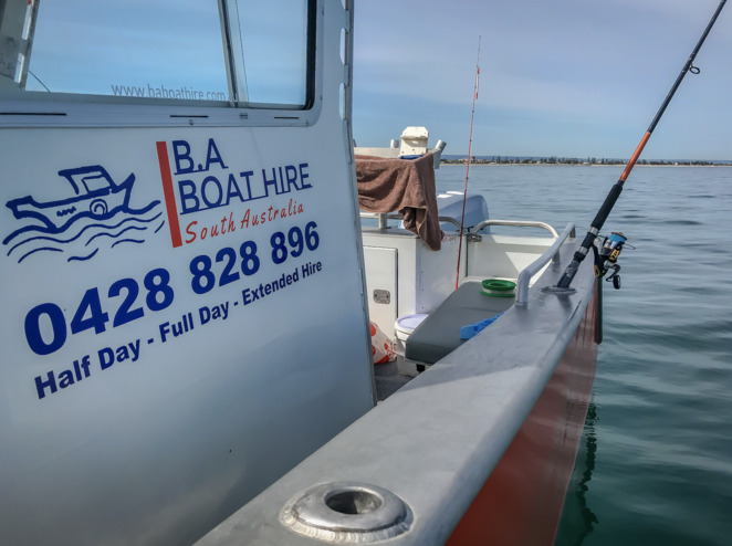 B.A. Boat Hire, Boat Hire Adelaide, Boat Hire South Australia, Boat Rental Adelaide, Boat Rental South Australia, Fishing Boat Hire