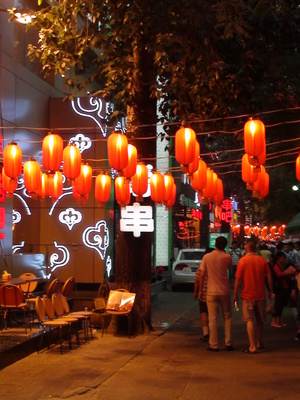 Beijing,Eating,Restaurants,Ghost Street,Lanterns