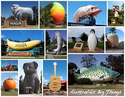 big things, australia, road trip, attraction, tourist, queensland, brisbane, cairns, map