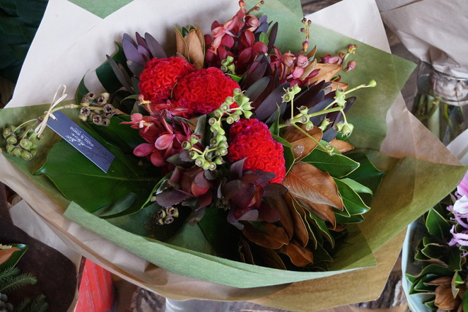 Bouquet at Stalks and Stems