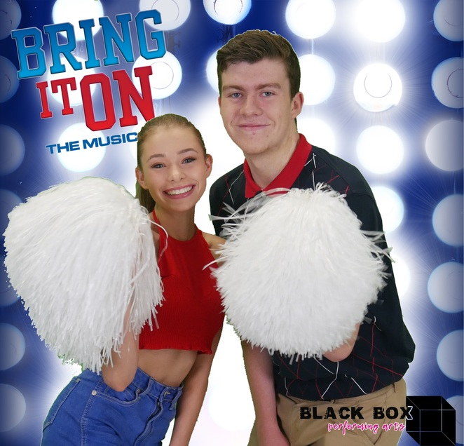 Bring It On, musical, cheerleading, Black Box Performing Arts, theatre, play, teens, kids, children, family