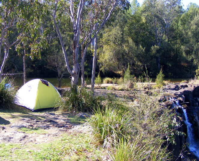 Summer camping is about finding the perfect place in the shade of the tree or near a swimming spot