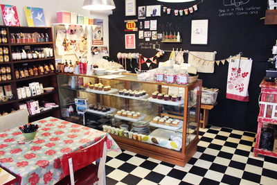 cherry seed cupcakes, cupcake store, cupcake cafe, canberra's best cupcakes, ginninderra village