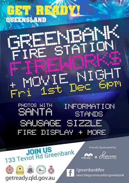 Christmas, Greenbank, rural fire service, fireman, flood, fire, movie, SES, sausage sizzle, storm
