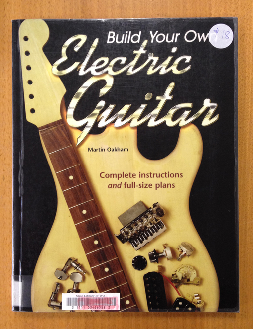 Complete instructions for your very own eclectic electric guitar