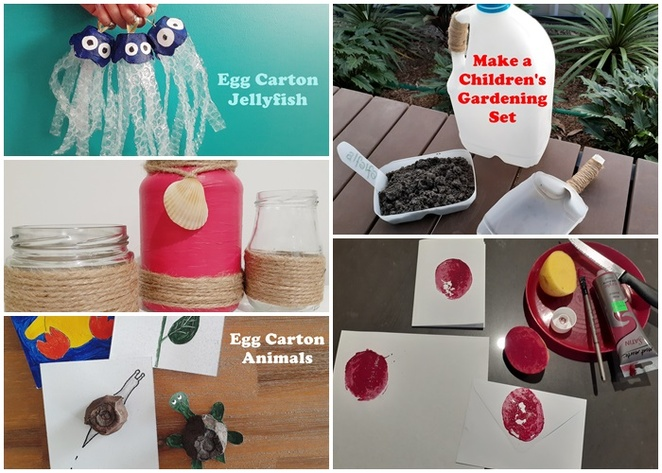 crafts, recycled materials, australia, gifts, kids, children, make things, recycled materials,