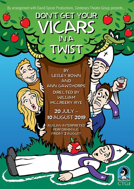 Don't Get Your Vicars in a Twist, Centenary theatre group, Gemma Regan, Review