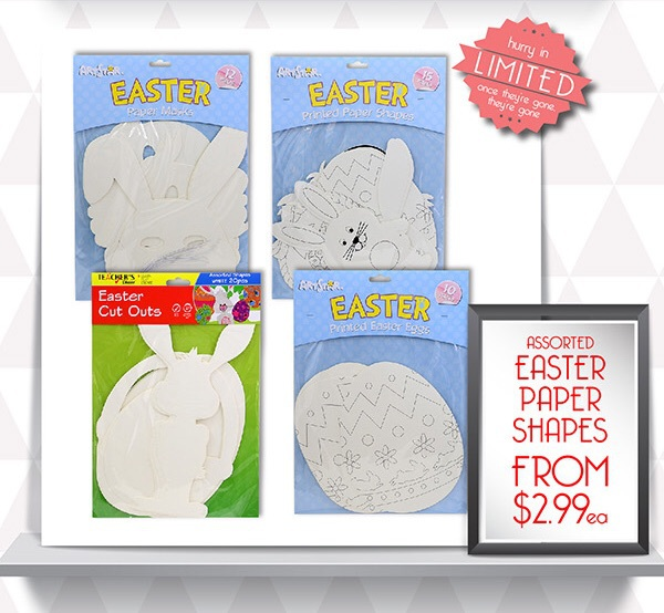 Easter, crafts, riot art and craft