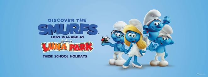 Easter Long Weekend, Smurfs, Egg Hunts, Family Friendly, Rides, Amusement Park