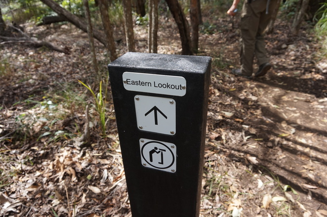 Eastern Lookout Sign