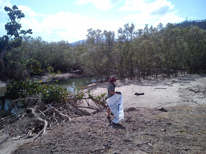 Eco barg clean seas inc, Whitsundays marine removal debris program, Cannonvale clean up beach days, volunteer with kids