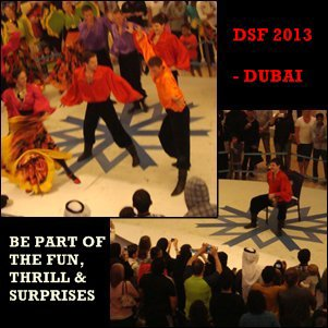 Entertainment during the DSF