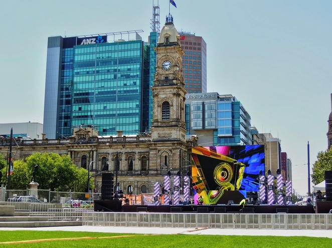 free things to do in adelaide, fun things to do, in adelaide, what's on in adelaide, adelaide kids, what to do in adelaide, fringe festival, garden of unearthly delights, free events, victoria square