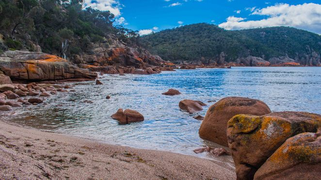 freycinet national park wineglass bay sleepy things to do honeymoon cape tourville