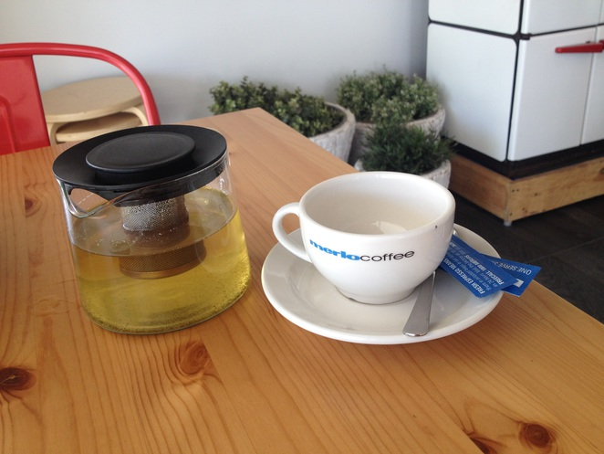 Green tea, Thirty-Seven Cafe, cafes in Ipswich