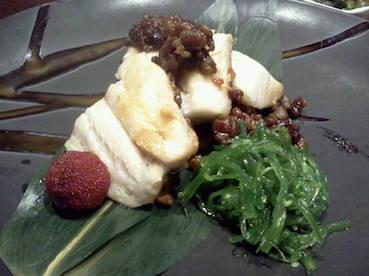 Hibachi Japanese Grill - steamed miso cod