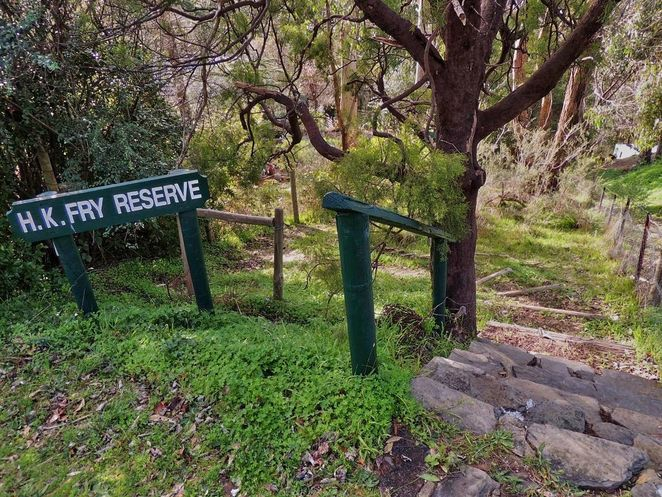 HK Fry Reserve, National Trust, National Trust of South Australia, South Australia, heritage buildings, reserve, park, crafers, crafers west
