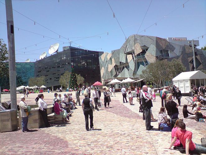 Holiday activities for kids, Federation Square, free kids activities, cheap holiday activities, holiday activities, interactive activities for children, Activities for kids, educational activities, indoor and outdoor activities for kids,