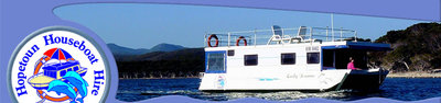 Image is from the Hopetoun Houseboat Hire website.