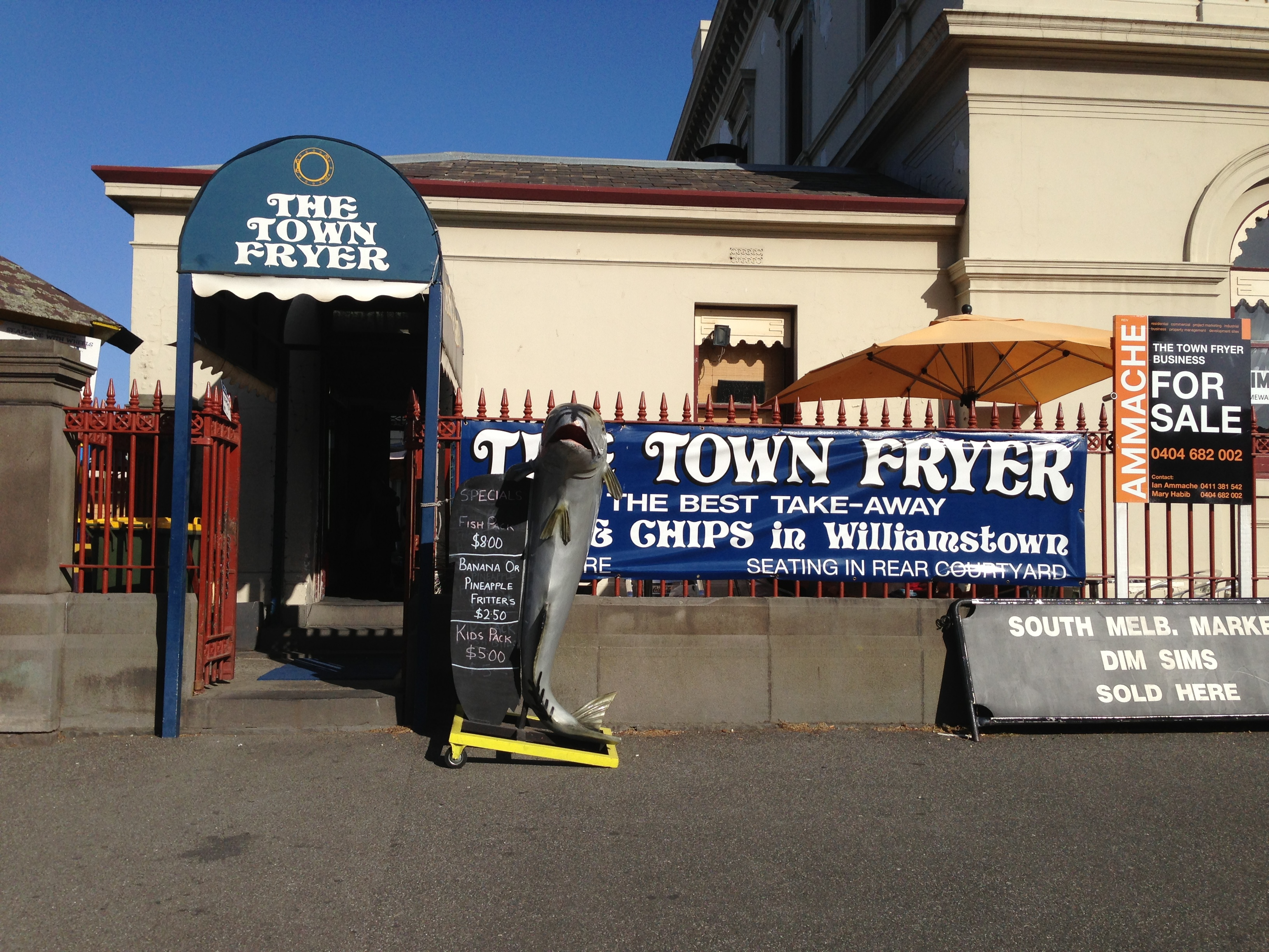 Image result for the town fryer