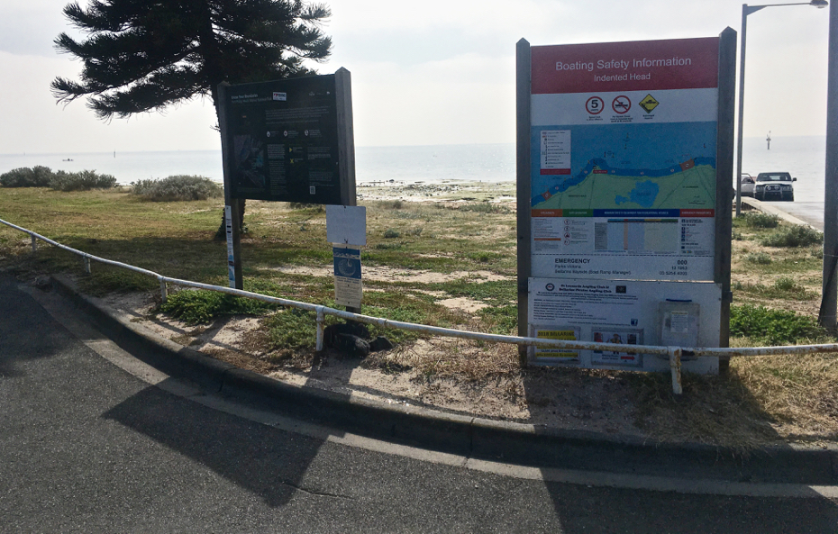 Wrathall reserve indented head geelong for Fish cleaning station near me