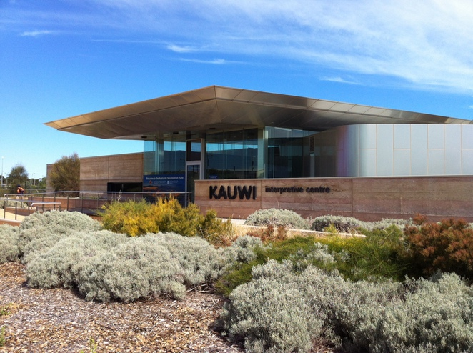 Kauwi Interpretive Centre and Adelaide Desalination Plant