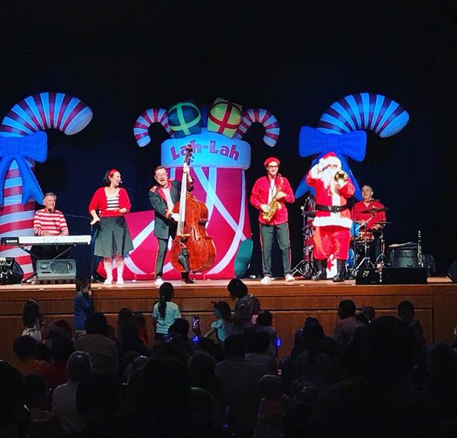 Lah-Lah's Big Live Band Live Show Santa's Got A Brand New Groove