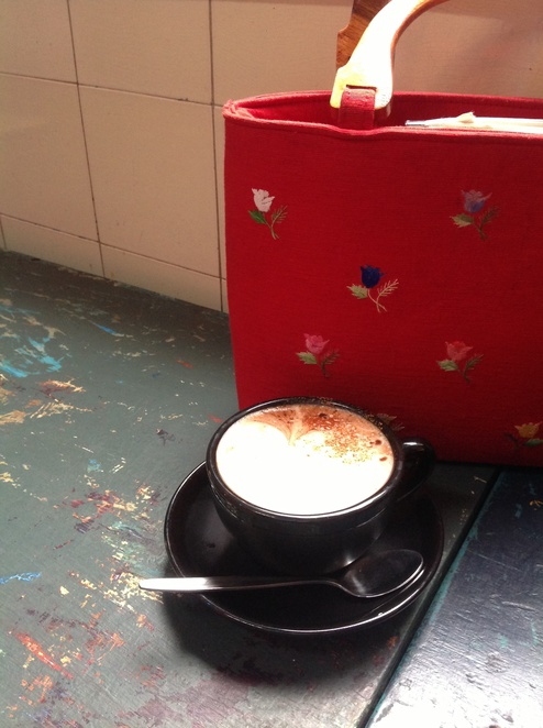 Lentil as Anything, Abbotsford Convent, coffee, hot chocolate, chocolate, cafe, lunch, Melbourne