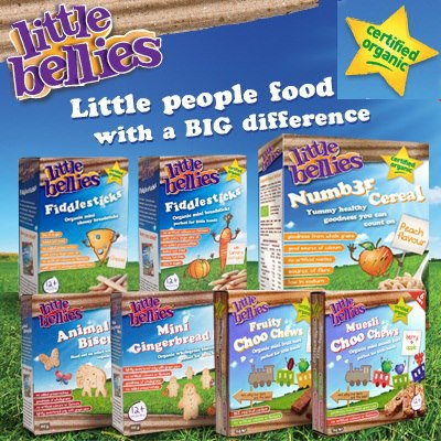 Little Bellies organic food products