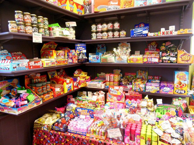lollies galore at Sweets and Treats