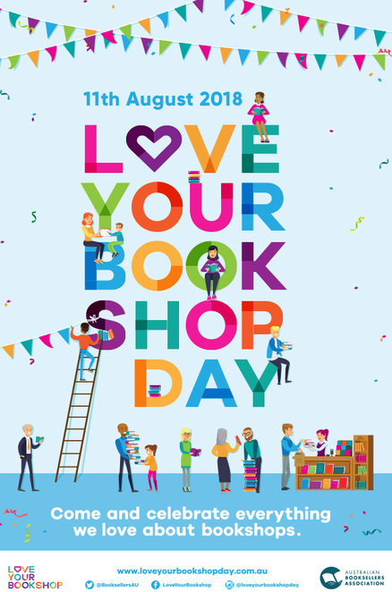 love your bookshop day 2018, community event, fun things to do, literaray, libraries, bookshops, shopping, reading, novels, authors, stories, kids books, graphic novels, booksellers, readers event, published books, magazines