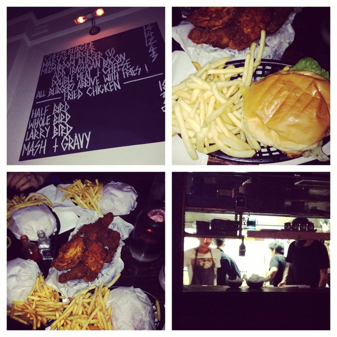 Mary's, burgers and fries, fries chicken, Newtown
