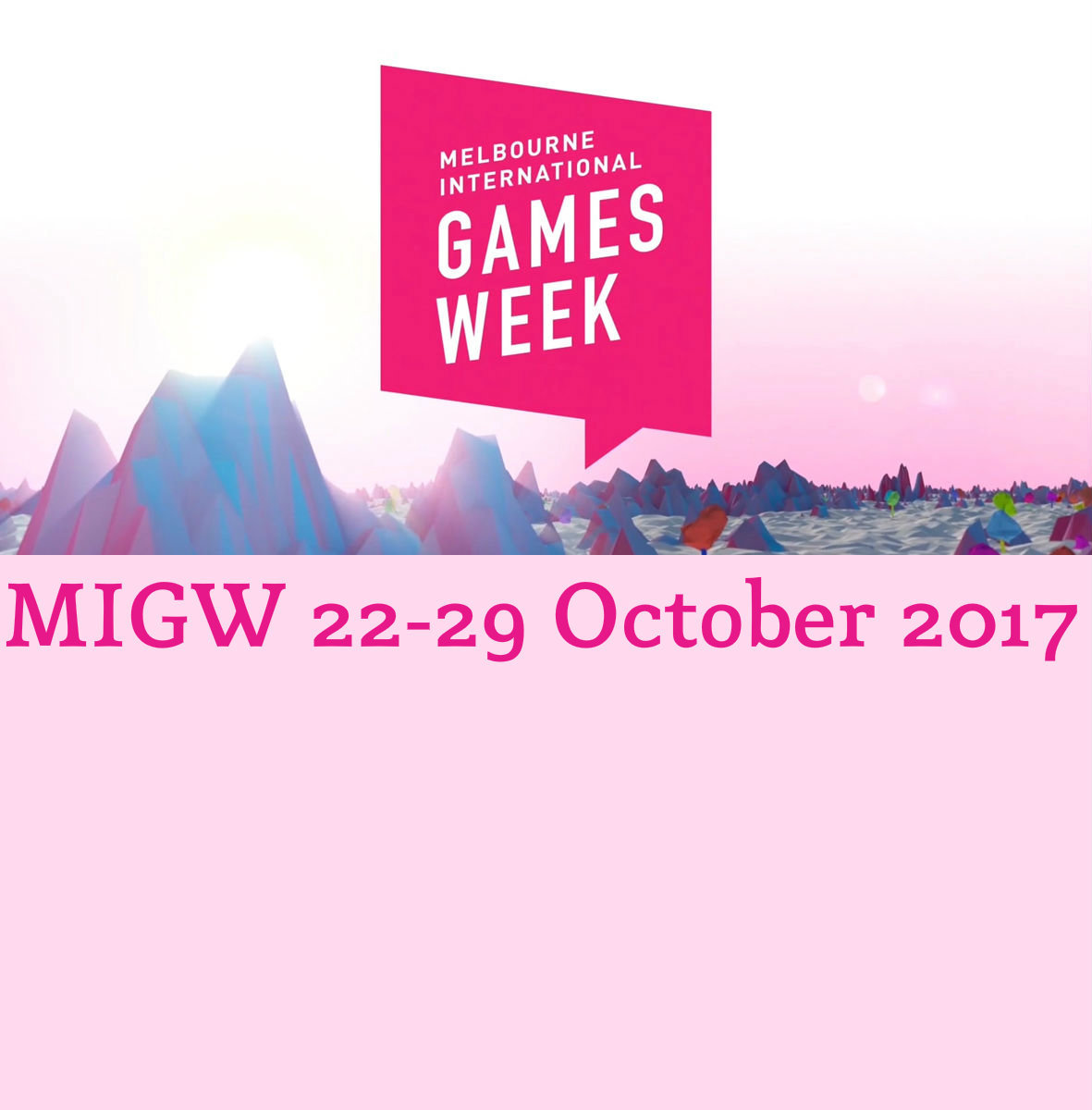 Games Week Melbourne