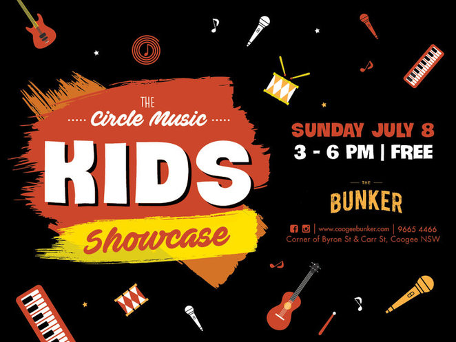 Music, Music Venues, The Bunker, Botany, Kids, Family, Free, Entertainment