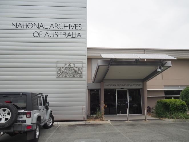 National Archives, Cannon Hill, history, records