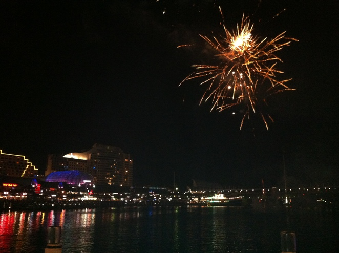 new years eve, 2013, fireworks, gold coast