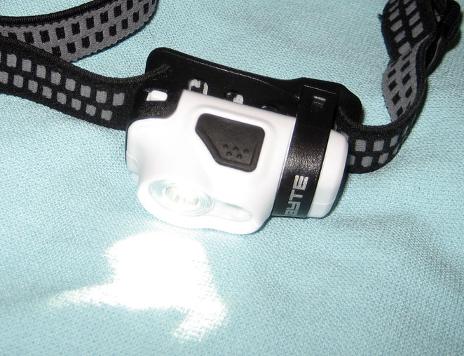 My trusty headlamp
