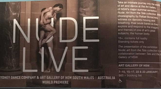 Nude Sydney Art Gallery of NSW Sydney Festival