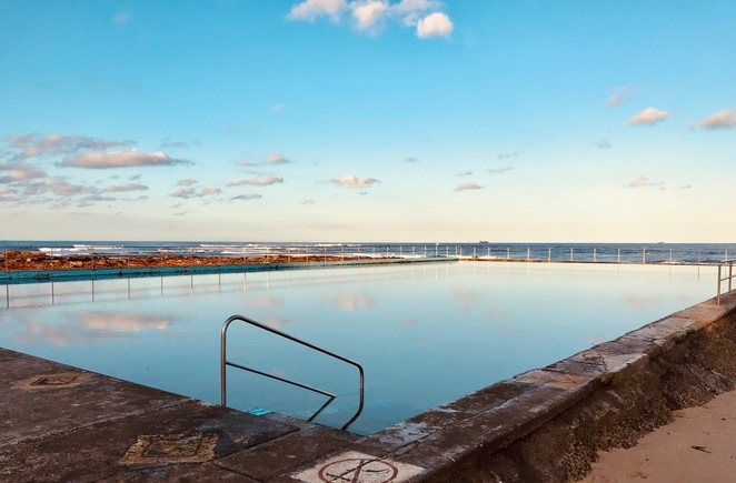 Ocean Pool, Rock Pool, Outdoor, Adventure, Swimming, no sand, safe swimming, Illawarra, where are Rock pools in Sydney, South Sydney Rock Pools, What to do in school holidays, Kids, Free, NSW, South Coast, Destination Wollongong
