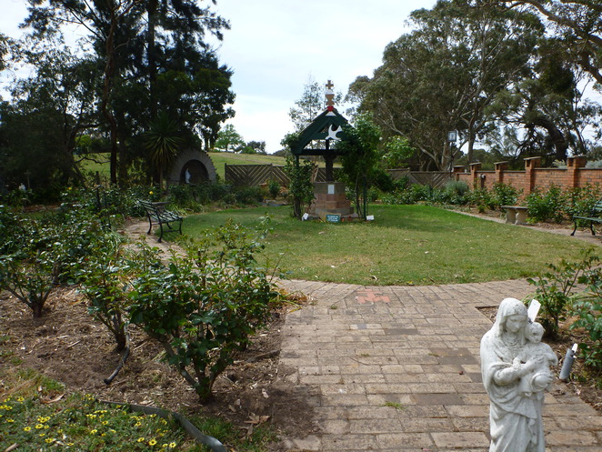 Our Lady's Garden. Mt Barker